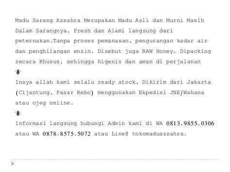 Asli Pfizer Jakarta Barat Daerah Khusus Ibukota Jakarta 081398550306 sarang madu di jakarta utara