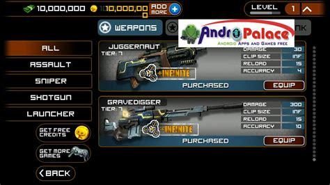 frontline commando 2 hack apk frontline commando armv6 apk v3 0 2 mod unlimited coins andropalace