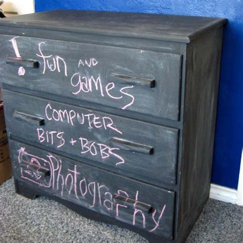 chalkboard paint on wood chalkboard paint for dressers modern furniture painting