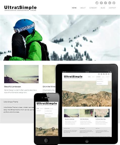 Theme Wordpress Ultra Simple   fullscreen slider ultra simple theme best wordpress
