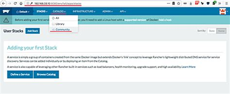 docker ghost tutorial how to manage docker containers with rancher on ubuntu