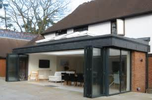 see examples of a contemporary extension to a large