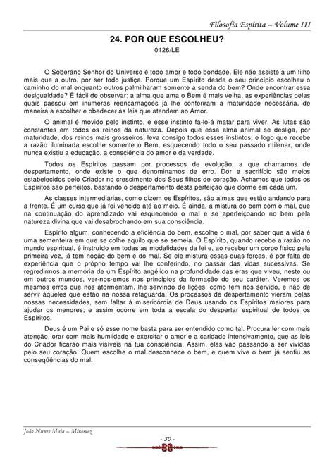 Filosofia Espirita volume 3 (João Nunes Maia - Miramez)