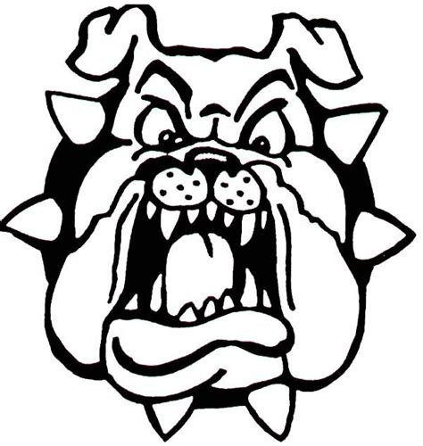 bulldogs coloring page bulldog coloring pictures coloring home