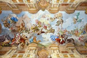 file ceiling painting of the marble melk