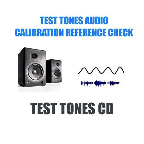 audio test audio equipment set up test tones cd eur 3 43