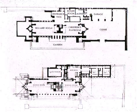 frank lloyd wright home and studio floor plan not pc robie house frank lloyd wright
