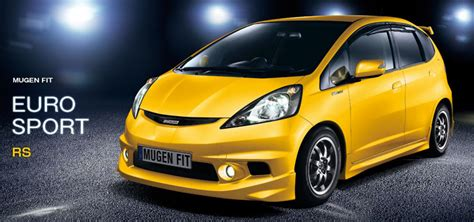 mugen looking to build modified honda fit 9th generation