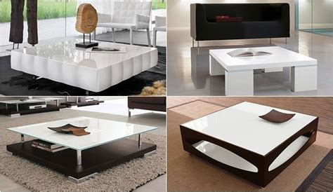 tendencias en mesas de salas modernas