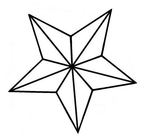 pattern for drawing a star nautical star amandine eriksen flickr