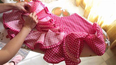 como cortar una falda de cola flamenca youtube tutorial vestido de flamenca estilo marisol 5 5