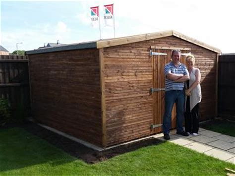 Beast Sheds Reviews by 12x10 Apex Beast Wood Garden Shed