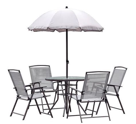 table chair umbrella set folding chairs glass table umbrella 119 inexpensive