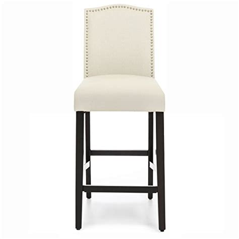 Nail Studded Bar Stools by Best Choice Products 30 Quot Set Of 2 Nail Studded Linen