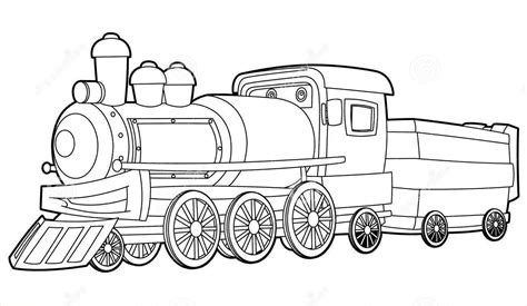 simple train coloring pages train coloring pages image 20