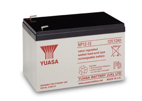 Batrey Yuasa Np 65 12 yuasa np12 12 12v 12ah sla battery