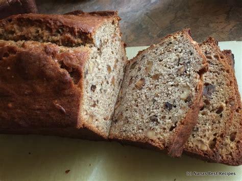 best banana nut bread banana nut bread nana s best recipes