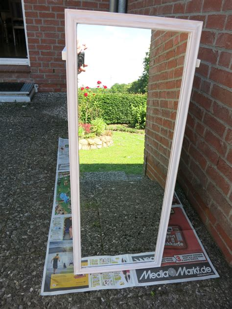 spiegelrahmen streichen neue farbe braucht das m 246 bel oder shabby chic furniture