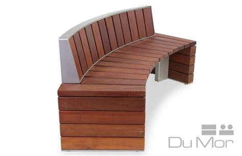 dumor bench curved bench 278 dumor site furnishings