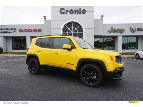 jeep yellow 2017 2017 solar yellow jeep renegade latitude 120773957 photo