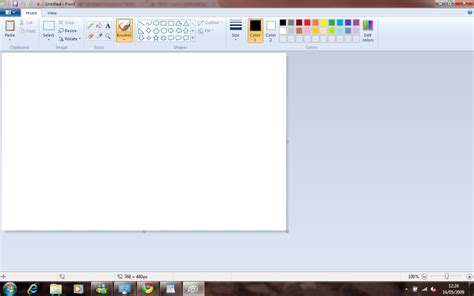 painting for windows 7 updated windows 7 release candidate review screenshots