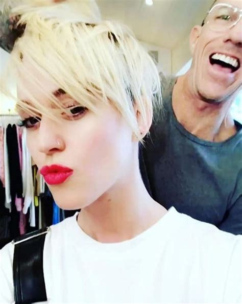 katy perry new hair cut katy perry downplays her split from orlando bloom ny