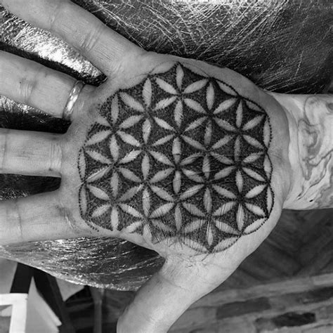 pattern of life tattoo 100 flower of life tattoo designs for men geometrical