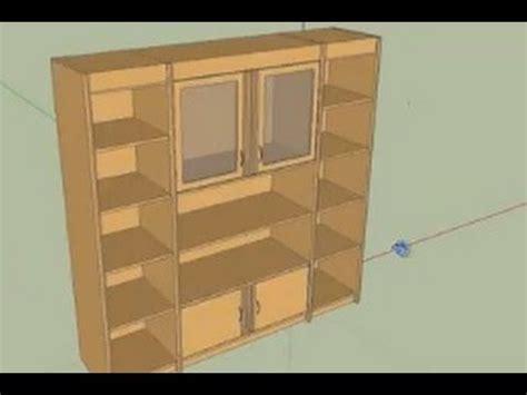 google sketchup wardrobe tutorial google sketchup tutorial cupboard youtube