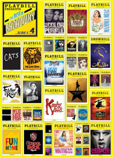 playbill broadway cover  pc puzzle endless games