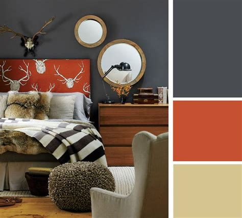 the 25 best ideas about grey orange bedroom on pinterest