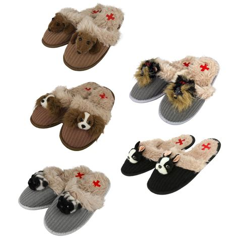 yorkie slippers fuzzy nation breed slippers the animal rescue site