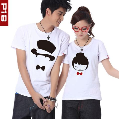 Same Tees For Couples 好看的情侣t恤 淘宝助理