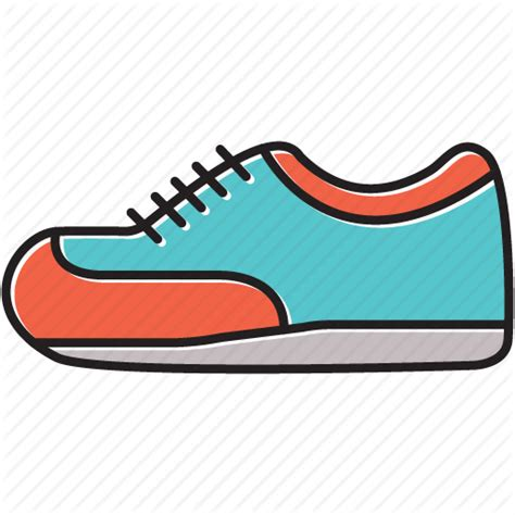 running shoe icon iconfinder shoe icon set by singh
