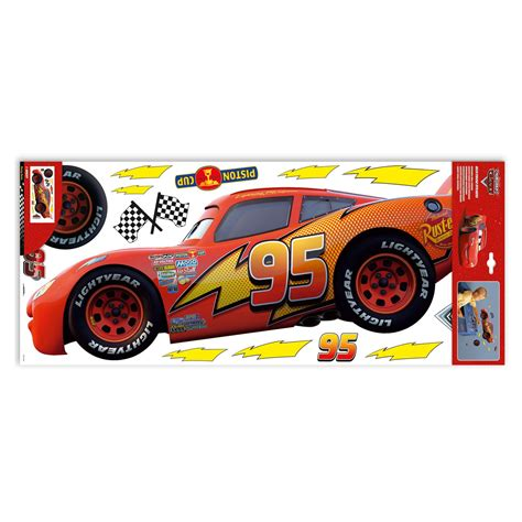 cars stickers for wall disney cars large wall stickers new room decor ebay