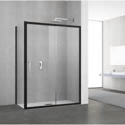 porte de coulissante 140 146 cm profil 233 noir elyt