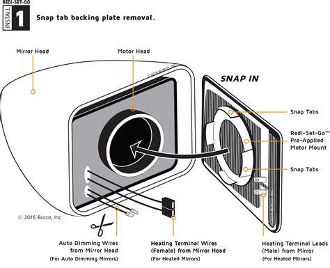 how do heated mirrors work wiring diagrams repair wiring