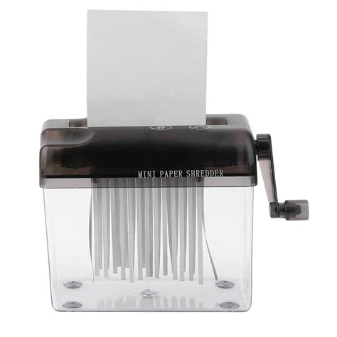 Mini Paper Shredder Manual manual paper shredder reviews shopping manual paper shredder reviews on aliexpress