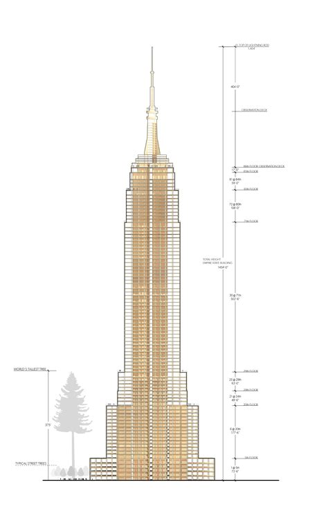empire state building floor plan mets 228 wood and michael green designed a wooden