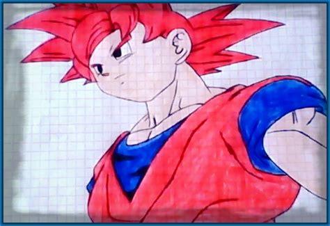 imagenes de goku realistas dibujos de dragon ball z de goku fase 4 archivos