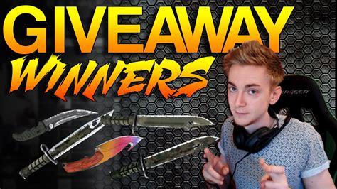 Giveaway Cs Go - cs go 600k giveaway winners youtube