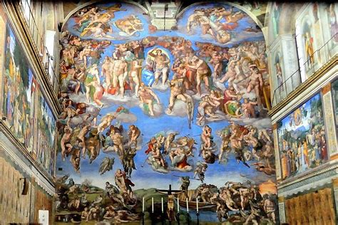 vaticano el juicio final capilla sixtina el juicio