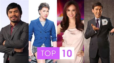 filipino celebrity 2015 news top 10 most richest philippines celebrities 2015 youtube