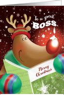 christmas stories for boss business cards for from greeting card universe
