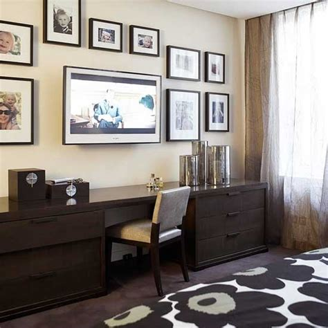 home office tv room ideas media room flatscreen tv living rooms image housetohome co uk