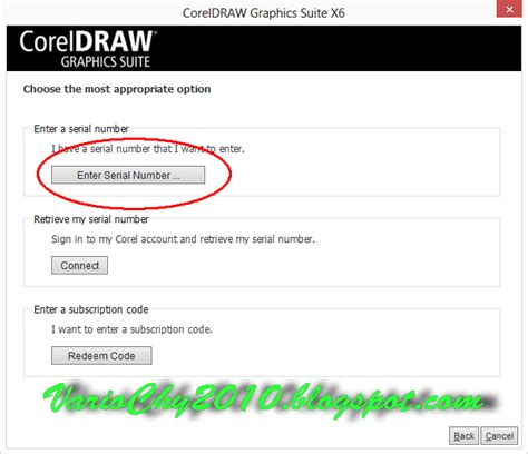 corel draw x4 enter serial number lockpriority blog