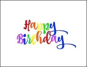 Celebrate with this free rainbow happy birthday printable treat topper