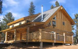 building a custom home colorado log cabin