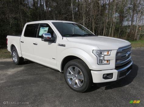 2016 white ford f150 2016 white platinum ford f150 platinum supercrew
