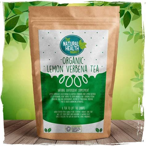 Brown Paper Bag Detox Tea Orange And Green by Organic Lemon Verbena Tea Bags The Health Market