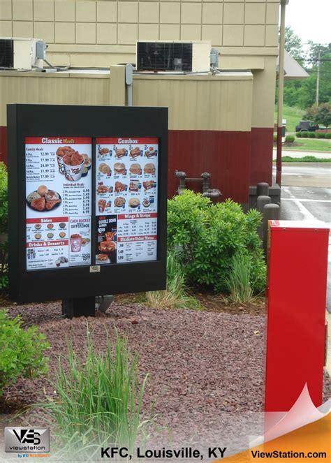 drive thru kfc menu 127 best images about qsr quick service restaurants on